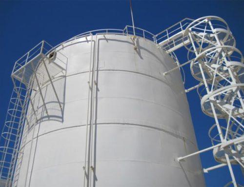 Chernomortransneft has started building six storage tanks at Sheskharis terminal